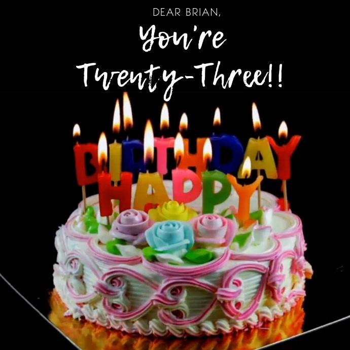 BIRTHDAY WISH TEMPLATE