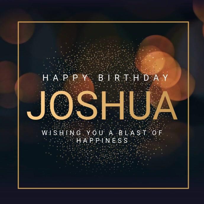 Birthday Wish Video Template