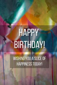 Birthday Wishes ภาพกราฟิก Tumblr template