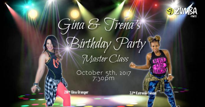 Birthday Zumba Dance Party