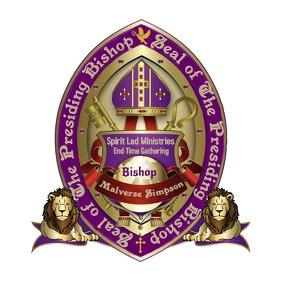Bishop Seal Purple & Gold No Leaves