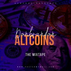 Bitcoin Altcoin Dollar The Mixtape CD Cover