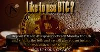 ahr bitcoin deposit Facebook Gedeelde Prent template