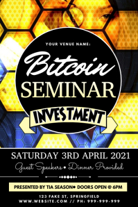 Bitcoin Seminar Poster