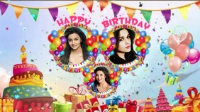 BITHDAY WISHES BALLOON THEMED GIF