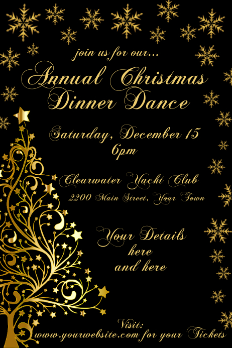 Christmas Invitation Template from d1csarkz8obe9u.cloudfront.net