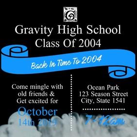 2 520 customizable design templates for high school reunion flyer