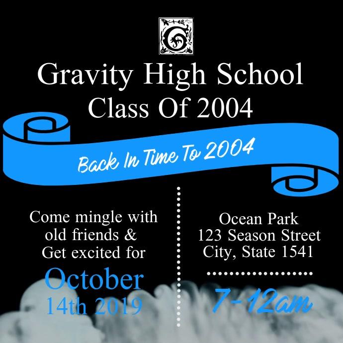 Black and Blue High School Reunion Video