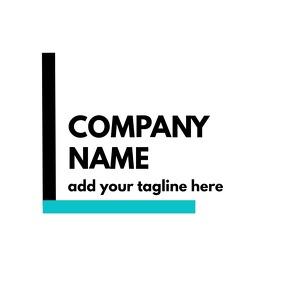 black and blue logo Логотип template
