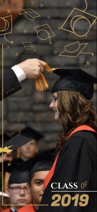 Black and Gold Graduation Snapchat Filter
