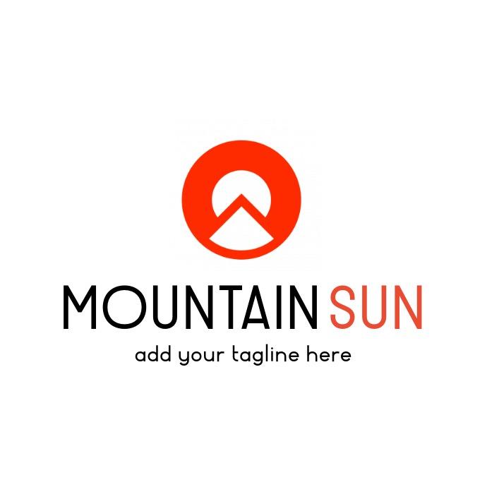 Black and orange professional services icon l Logo template