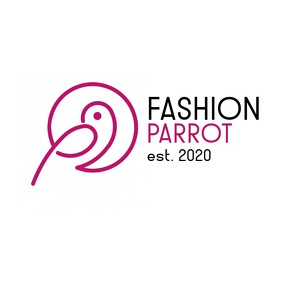 black and purple magenta animal bird parrot l