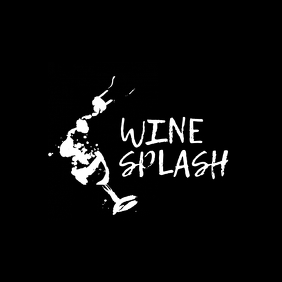 black and white bar wine gallery icon logo template