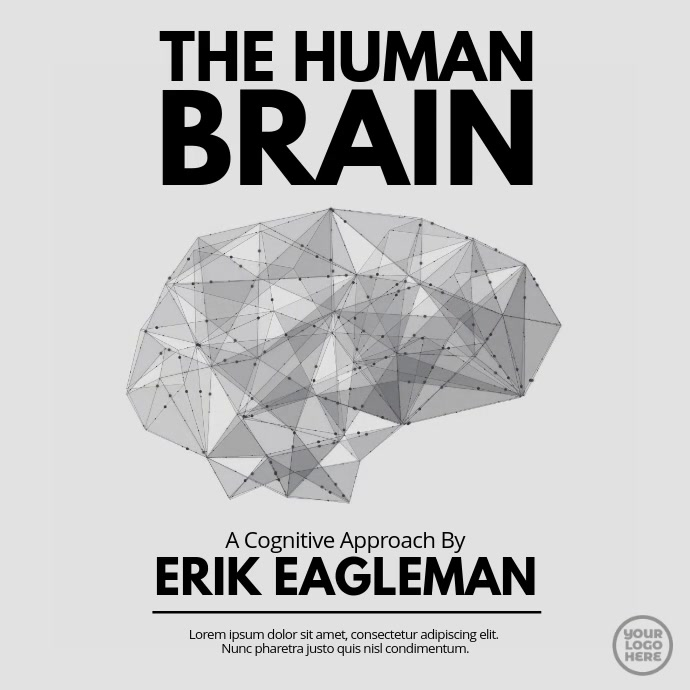 Black and White Brain Animated Cover
