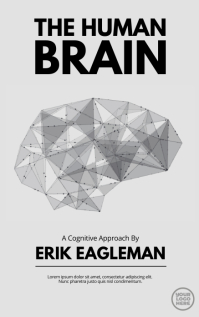 Black and White Brain Book Cover