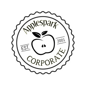 Black and White Corporate Logo