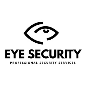 Black and white eye logo