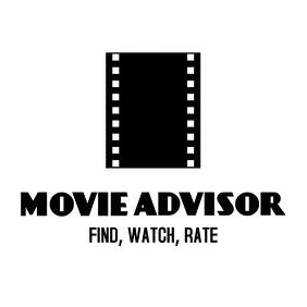 Black and white movie logo