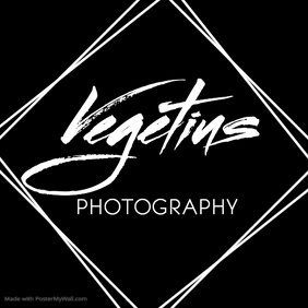 Black and white signature logo