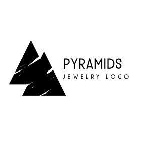 black and white triangles logo