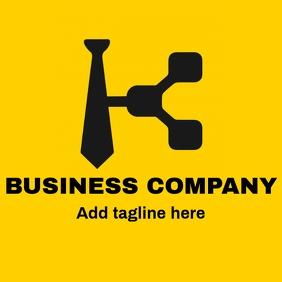 Black business logo