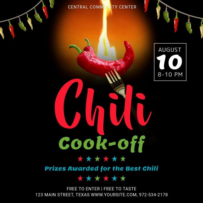 Black Chili Cook Off Contest Square Video