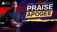 Black Church Bible YouTube Thumbnail Video Te Isithonjana se-YouTube template