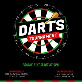 Black Dart Tournament Square Video