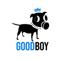 GOOD BOY / DOG LOGO template