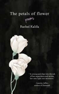 Black Flower Themed Poetry Book Cover Kindle/Book Covers template