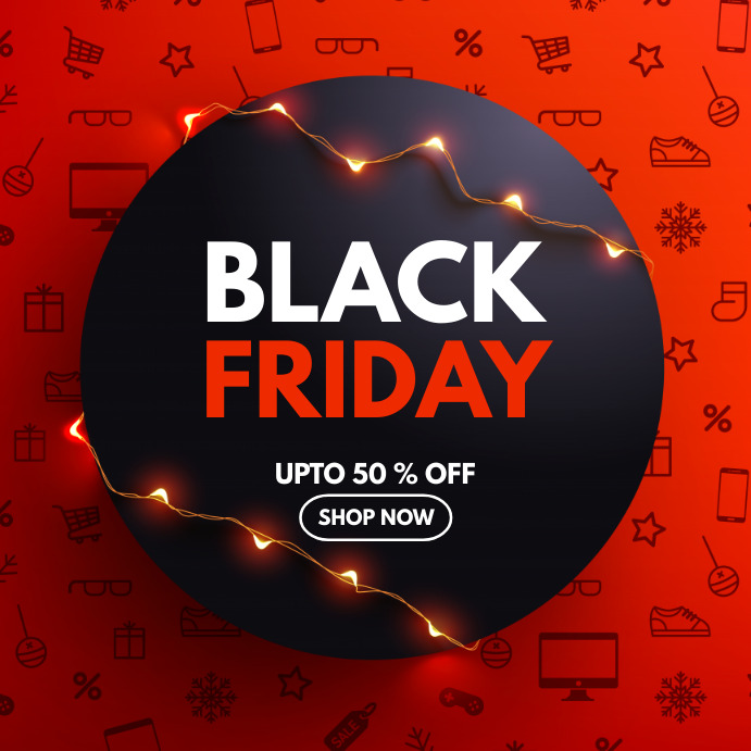 Black Friday, Retail, Boxing day Pos Instagram template