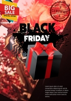 black friday 2 A4 template