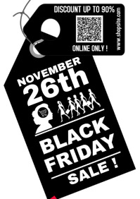 Black Friday 2020 A4 template