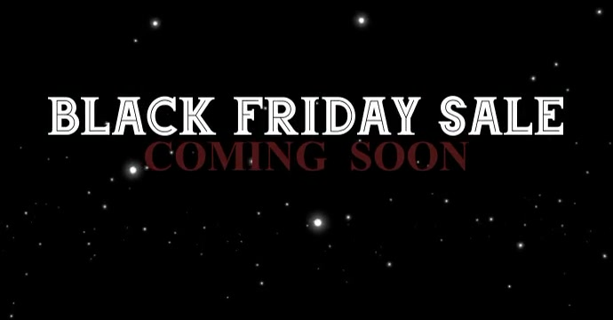 BLACK FRIDAY 2020 TEMPLATE Iklan Facebook