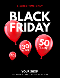 Black Friday Balloon Flyer