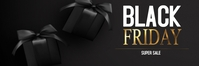 Black Friday banner Bannier 2' × 6' template