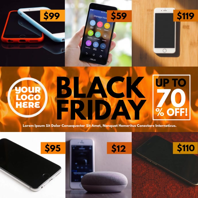 Black Friday Burning Fire Offers