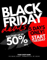 Black Friday Deals Flyer