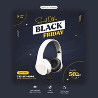 black friday Logotipo template