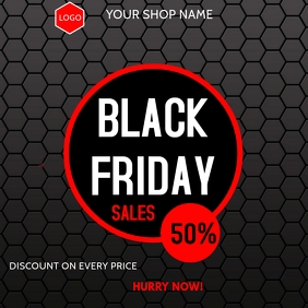 Black Friday Instagram Post template