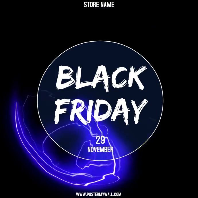 Black Friday Vierkant (1:1) template