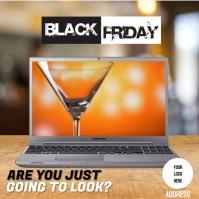 BLACK FRIDAY Сообщение Instagram template