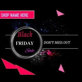 Black Friday Instagram 帖子 template