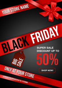 BLACK FRIDAY A4 template