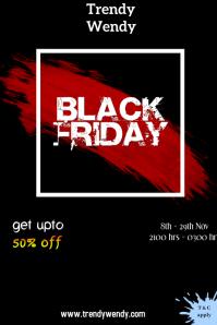 Black Friday Plakkaat template