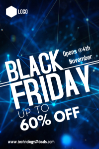 Black Friday Plakat template