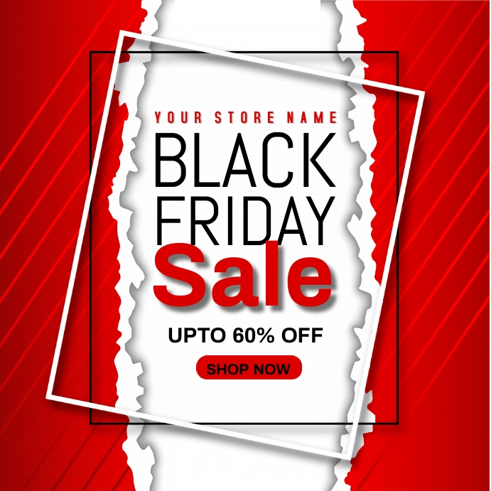 BLACK FRIDAY Isikwele (1:1) template
