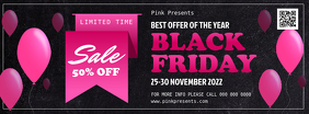 Black Friday Facebook Cover Photo