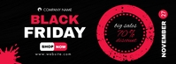 black friday facebook post cover advertisemen template