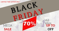 Black Friday Facebook Share Image Template